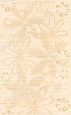 Cersanit Euforia beige inserto flower 1 WD137-015