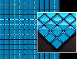 Paradyż Uniwersalna Mozaika Szklana Azzurro K.2,3X2,3