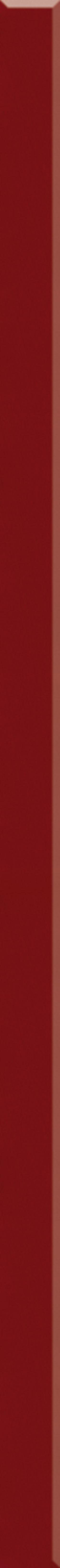 Paradyż Uniwersalna Listwa Szklana Rosso