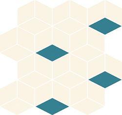 Cersanit Colour blink mosaic diamond mix WD567-005