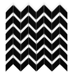 Dunin Black&White Pure Black Chevron mix