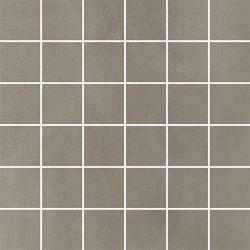 Paradyż Tigua Grys Mozaika Cięta K.4,8X4,8 Mat.