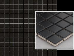 Paradyż Albir Nero Mozaika Prasowana K.2,3X2,3