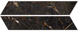 Azario Chevron Marquina Gold Mat