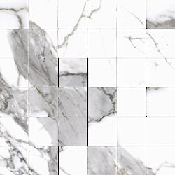 Cerrad Calacatta white Satyna mozaika