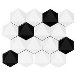 Dunin Hexagonic B&W mix 74