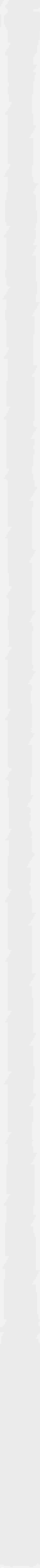 Paradyż Uniwersalna Listwa Szklana Bianco