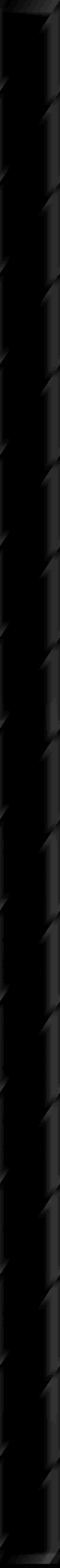Paradyż Uniwersalna Listwa Szklana Nero