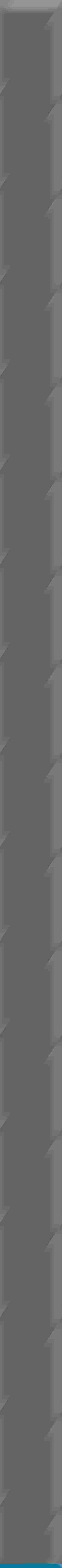 Paradyż Uniwersalna Listwa Szklana Blue 3X75 G1