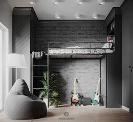 Pokój dla chłopca | Łóżko na piętrze