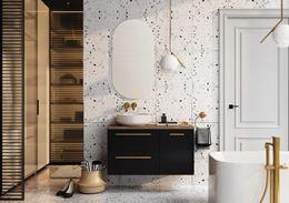Nowoczesna łazienka z kolekcją Elita Kwadro Plus