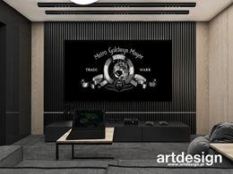 Pokój kinowy - strefa rekreacyjna w domu