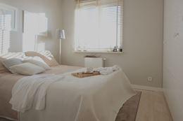 Klimatyczna sypialnia hygge