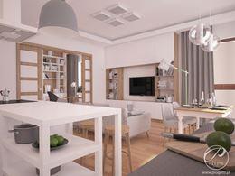 Mieszkanie w przytulnym stylu skandynawskim