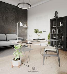 Gabinet w domu - Balicka Deisgn