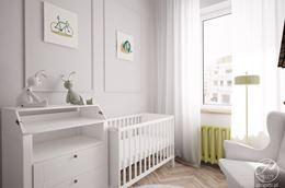 Biały pokój dla maluszka