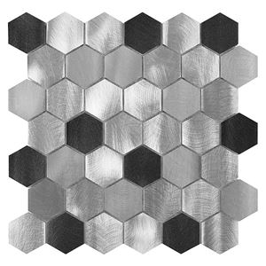 Allumi Grey Hexagon Mix 48