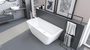 Wanna Excellent Lila w nowoczesnej łazience