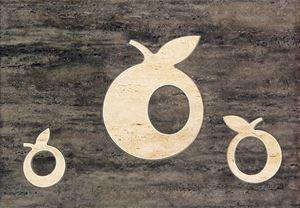 Domino Toscana brąz Apple
