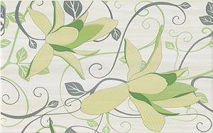 Cersanit Artiga light green inserto flower OD032-074
