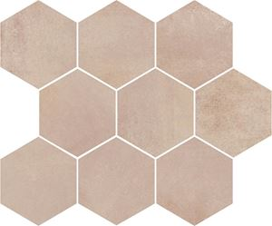 Opoczno Arlequini Mosaic Hexagon ND032-009
