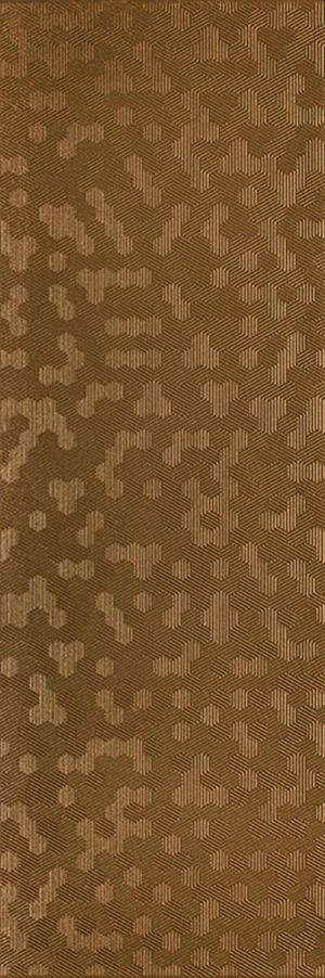 Paradyż Shiny Lines Copper Struktura Rekt.