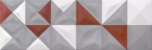 Opoczno Delicate Lines multicolour inserto geo OD432-005