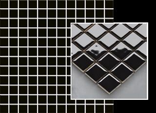 Paradyż Altea Nero Mozaika Prasowana K.2,3X2,3