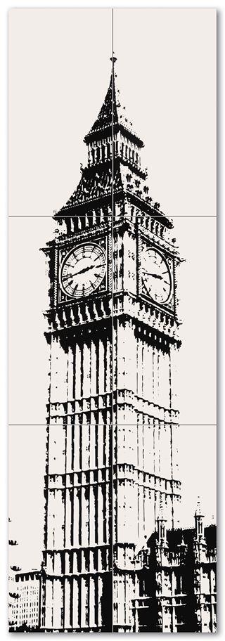 Tubądzin London Piccadilly Big Ben 1