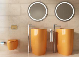 Kolorowa ceramika łazienkowa Bocchi
