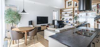 Dwupoziomowe mieszkanie w Poznaniu