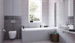 Jak optycznie powiększyć łazienkę?