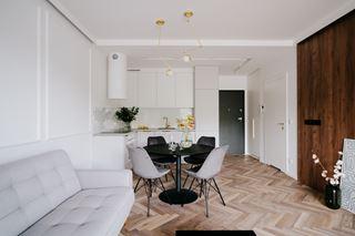 Wrocławskie mieszkanie w klimacie nowoczesnej klasyki