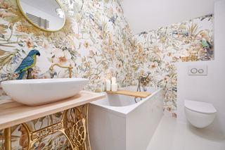 Metamorfoza łazienki w siedlisku na Mazurach
