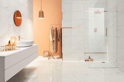 Aranżacja łazienki w kolekcji Tubądzin Serenity