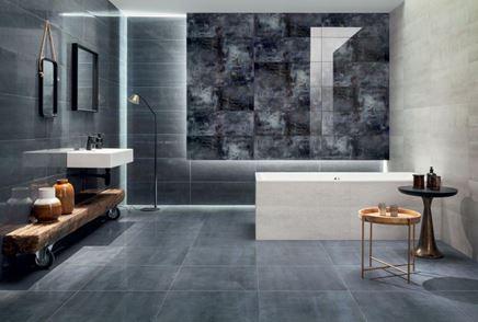 Nowoczesna łazienka w niebieskiej kolorystyce