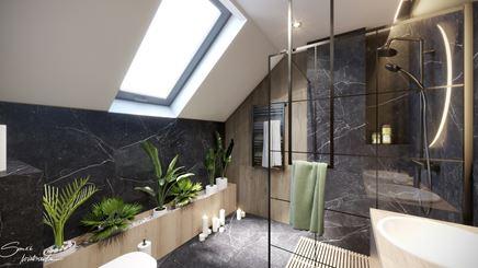 Ogród w łazience