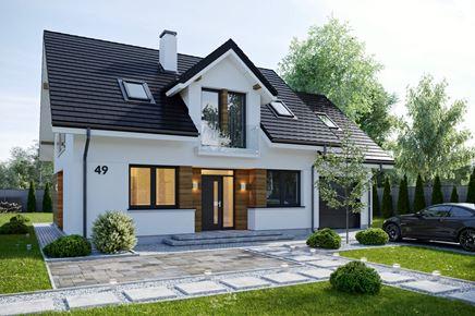 Wizualizacja domku do katalogu