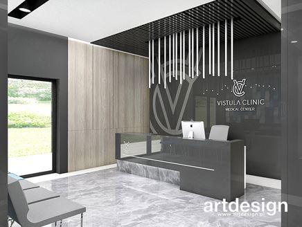 Projekt wnętrz Vistula Clinic