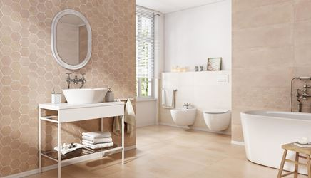Klasyczna łazienka z nutą retro