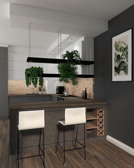 Strefa jadalniana w kuchni