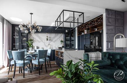 Realizacja: Apartament w stylu nowojorskim