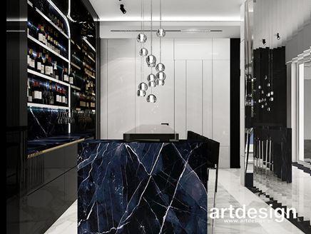 Prywatny bar w rezydencji