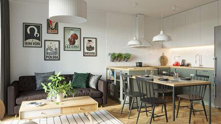 Przytulne mieszkanie dla młodej pary