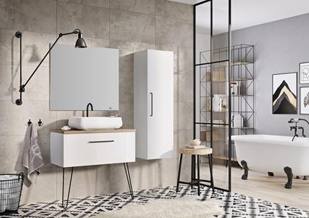 Aranżacja łazienki - meble Futuris