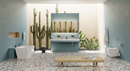 Salon kąpielowy w stylu eklektycznym