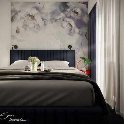 Sypialnia w bloku - Apartamenty Grodzka Krosno