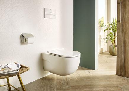 Podwieszana miska WC z kolekcji Roca Meridian