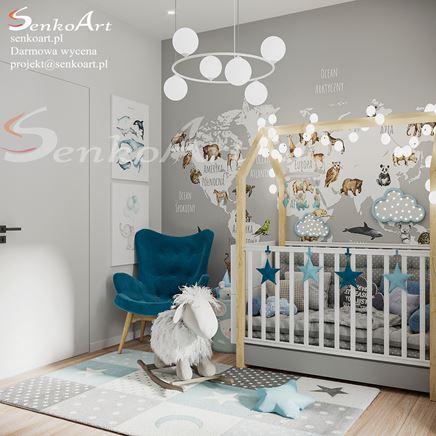 Pokój Dziecięcy dla małej księżniczki