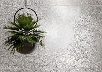Detal płytki dekoracyjnej Cersaint Tropicani